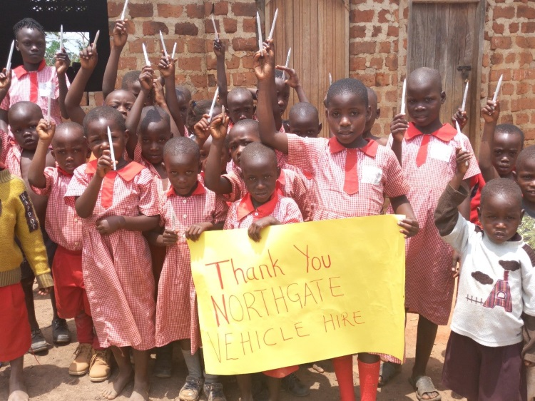 Northgate supports schools in Uganda through the not for profit organisation 'Pens for Kids'