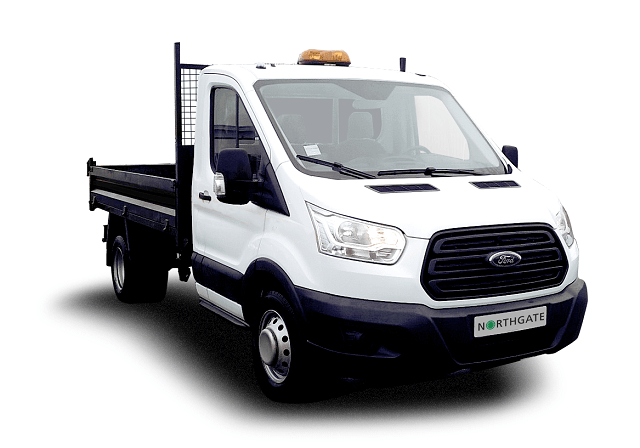 07cc4393fb 350 L2 H1 2.0TDCi 130ps (RWD) DRW - Lightweight Body Euro 6. Ford Transit  Single Cab Tipper Image